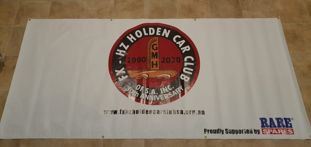 New banner for the club